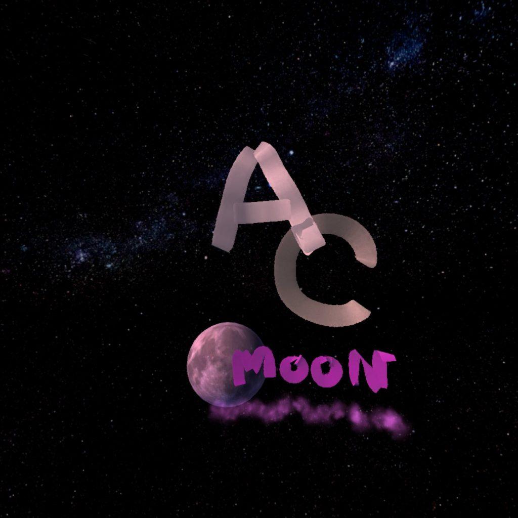 Multibrush で描いた AC と MOON